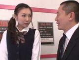 Naughty Yui Tatsumi gets pounded by horny teacher
