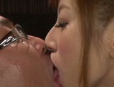 Sweet Sex model Erika Kitagawa deepthroats her boss enjoys fucking picture 14