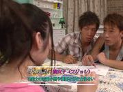 Young Ruka Kane gets nailed in amazing threesome
