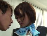 Really fine looking Yuuki Natsume gets fingered her pussy picture 11