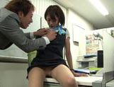 Really fine looking Yuuki Natsume gets fingered her pussy picture 14