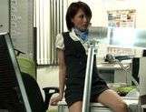 Really fine looking Yuuki Natsume gets fingered her pussy