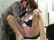Really fine looking Yuuki Natsume gets fingered her pussyasian pussy, asian schoolgirl}