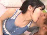 Charming Asian teen Yuki Komiyama sucks and gets screwed picture 15