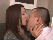 Delicious Japanese teen Nana Ninomiya in hot action