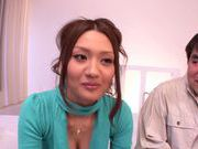 Wonderful japanese hottie Rina Fujimoto enjoys hard sex