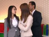 Sweet teen Riho Nanase gets horny at the office picture 6