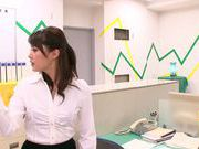 Hot office milf Mei Asou is fond of oral stimulation