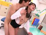 Hot office milf Mei Asou is fond of oral stimulationasian chicks, japanese sex}