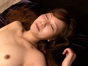 Kawai Yukino get ravaged by a strong cockasian women, asian pussy}