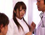 Wild nurse Shiori Kamisaki adores fucking