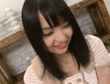 Horny teen Nozomi Aiuchi Creampied after a threesome picture 2