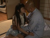 Doggy-style penetration of Meri Hayama pussy picture 12