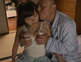 Doggy-style penetration of Meri Hayama pussy picture 15
