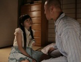 Doggy-style penetration of Meri Hayama pussy picture 2