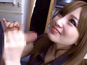 Skinny babe Erika Shibasaki gets dirty in oral sceneasian babe, asian girls}