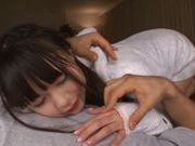 Superb Arina Sakira gets plenty of oral stimulation