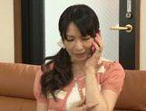 Shinori Ihara enjoying warm pussy stimulation