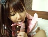 Horny asian babe Yuika Miyaji loves to suck picture 11