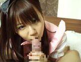 Horny asian babe Yuika Miyaji loves to suck picture 12