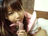 Horny asian babe Yuika Miyaji loves to suck picture 13