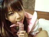 Horny asian babe Yuika Miyaji loves to suck picture 13
