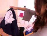Japanese hottie Nana Konishi is horny and eager