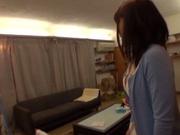 Busty AV teen pornstar sucks off cock and rides it hard on pov video