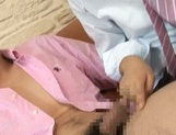 Asian doll Hikari gives astounding blowjob sessions picture 14