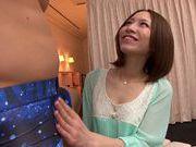 Skinny Risa Mizuki likes to get naughty sex