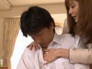 Yuma Asami Lovely Japanese babe gets a hard fucking