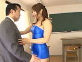 Horny asian babe Shiori Kamisaki gets pounded hard picture 10