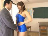 Horny asian babe Shiori Kamisaki gets pounded hard picture 13