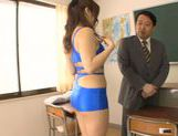 Horny asian babe Shiori Kamisaki gets pounded hard picture 8
