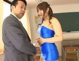 Horny asian babe Shiori Kamisaki gets pounded hard picture 9