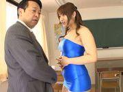 Horny asian babe Shiori Kamisaki gets pounded hard