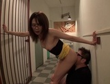 Sexy milf Ayako Kanou gets busy on a tasty donghorny asian, asian ass}