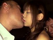 Shameless Asian milf Rina Itou enjoys group action