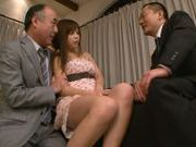 Juicy Japanese teen Rina Itou in a vigorous group action