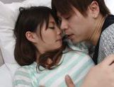 Cute Japanese girl Anna Ousaka gets mouthful of cum