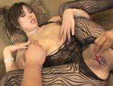Mei Amazaki Japanese model has hot anal sex