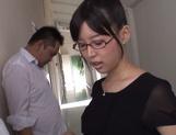 Mischievous Asian cock lover Tsukasa Aoi deepthroats hot guys picture 13
