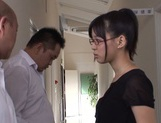 Mischievous Asian cock lover Tsukasa Aoi deepthroats hot guys picture 3