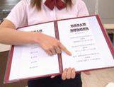 Aya Hasegawa Japanese girl is a sexy waitress