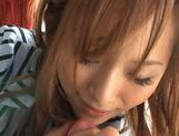 Akina Japanese babe is amazing at cosplay sex