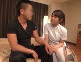 Kinky Japanese masseuse arranges hardcore sexplay picture 5