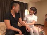 Kinky Japanese masseuse arranges hardcore sexplay picture 6