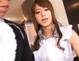 Akiho Yoshizawa is a juicy Asian model who likes sex
