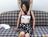 Mature Japanese lady gets tits fondled picture 13