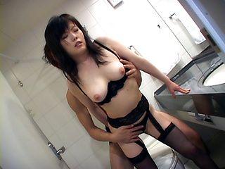 Hazuki Takashima lovely Asian milf is a sexy gal